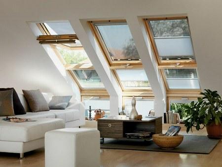 Elegantes ventanales para techo de Velux 1