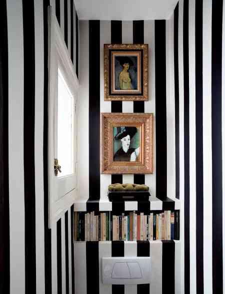 Decora tu hogar en blanco y negro 8