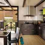 El verde en la decoración de cocinas 2