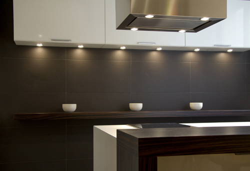 Dise os funcionales y decorativos para cocinas reducidas - Paneles decorativos para cocinas ...