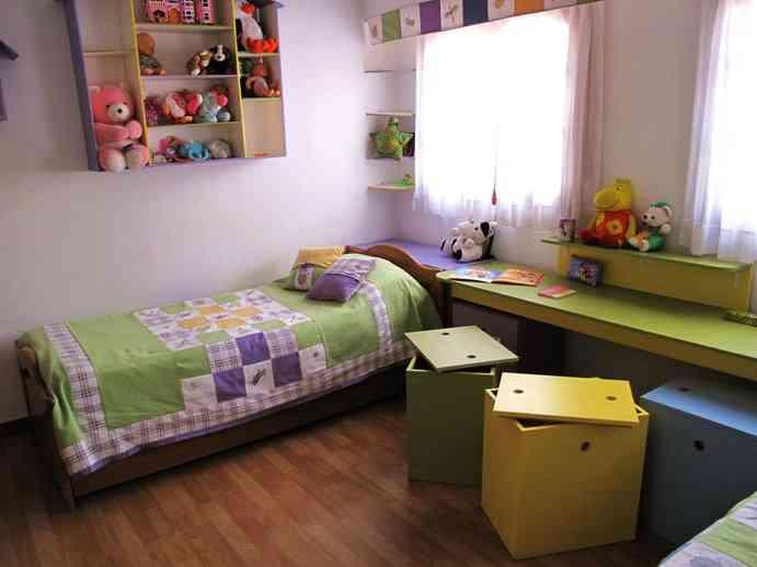 Decoraciones unisex para dormitorios compartidos 2