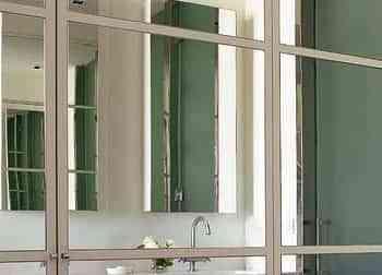 Tcnicas de decoracin con espejos enfrentados Decoracin de