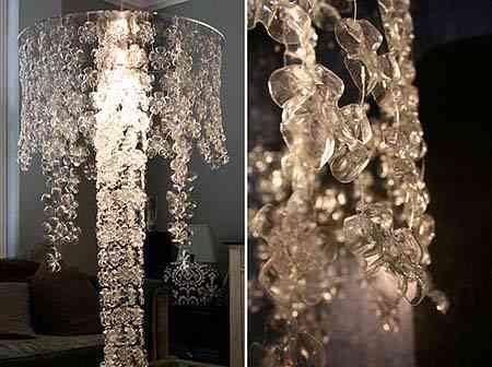Lámpara reciclada de diseño 1