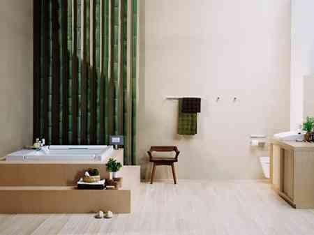 Cuartos de ba o con estilo asi tico ideas para la - Cuartos de bano estilo zen ...