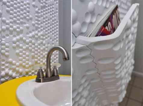 Paneles de plástico para decoraciones contemporáneas 4