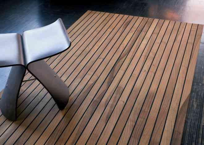 Alfombras de madera para tu hogar 6