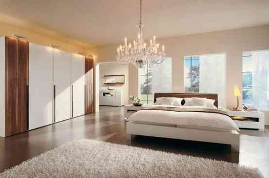 Líneas sencillas y colores neutros en la decoración de los dormitorios 2