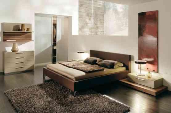 Líneas sencillas y colores neutros en la decoración de los dormitorios 3