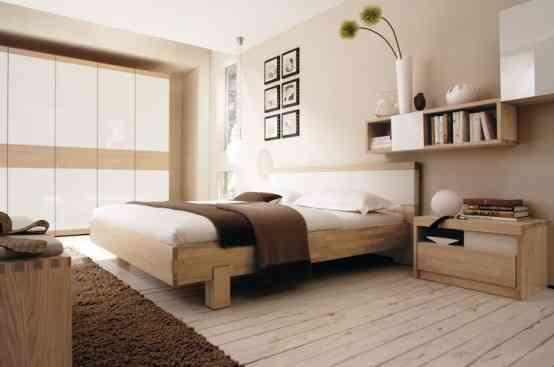 Líneas sencillas y colores neutros en la decoración de los dormitorios 4