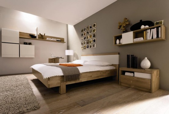 Líneas sencillas y colores neutros en la decoración del dormitorio 5