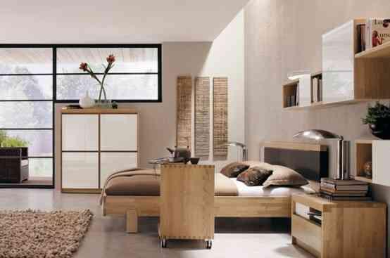 Líneas sencillas y colores neutros en la decoración de dormitorios 6