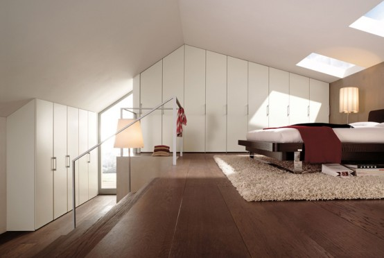 Líneas sencillas y colores neutros en la decoración de dormitorios 8
