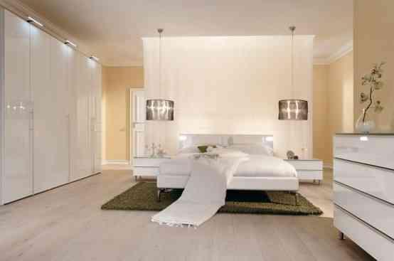 Líneas sencillas y colores neutros en la decoración de dormitorios 9