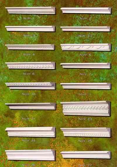 Para que sirven las molduras de paredes decoraci n de - Molduras para paredes exteriores ...
