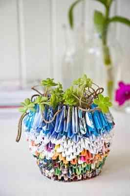 El arte Origami en la decoración del hogar 2