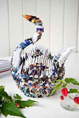 El arte Origami en la decoración del hogar 4