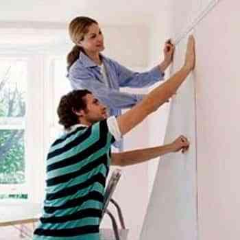 Cómo quitar fácilmente el papel de las paredes 1