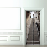 Original idea para decorar tus puertas 10