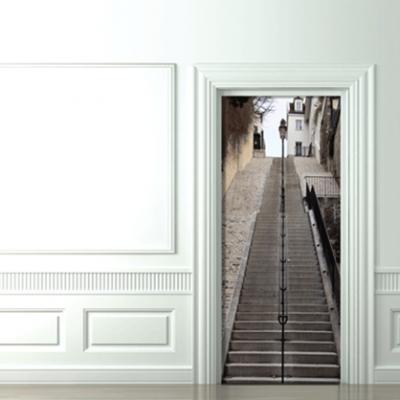 Original idea para decorar tus puertas 1