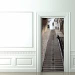 Original idea para decorar tus puertas 2
