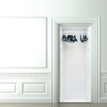 Original idea para decorar tus puertas 8