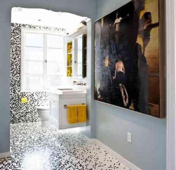 Azulejos para ba os modernos decoraci n de interiores for Mosaicos banos modernos