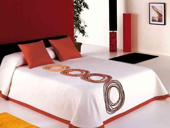 Viste a tu cama con muchos colores decoraci n de - Viste tu cama ...