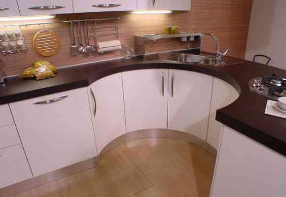 La Curva: una cocina de diseño 1