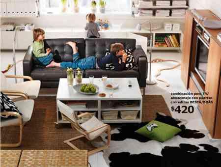 Catálogo IKEA 2011, novedades para salas de estar 1