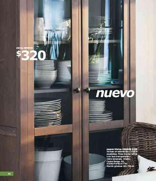 Cat logo ikea 2011 novedades para salas de estar for Vitrinas de cocina ikea