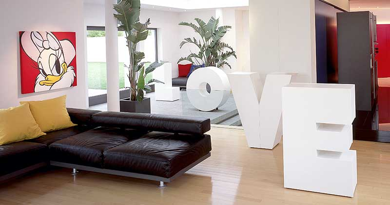 Decora tu hogar con letras 1