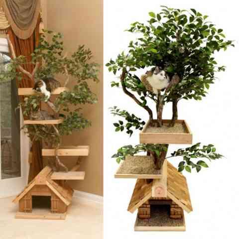 Una casa de árbol para tu mascota 2