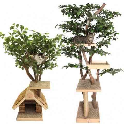 Una casa de árbol para tu mascota 4