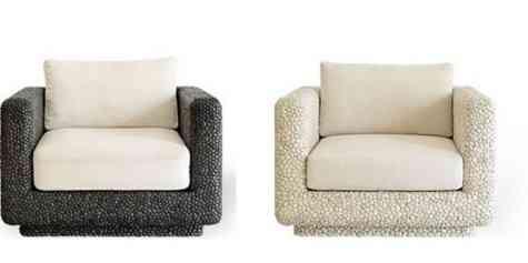 Originales muebles con piedras 1