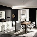 El color negro en la decoración del hogar 2