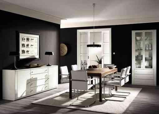 El color negro en la decoración del hogar 1