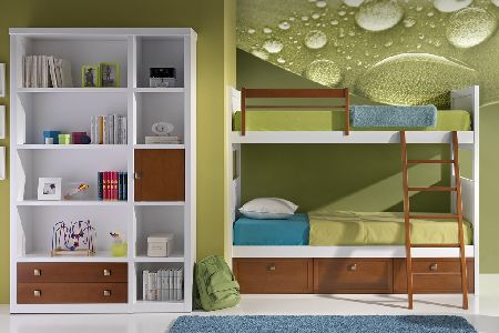 Ms de 20 ideas para decorar dormitorios juveniles con literas