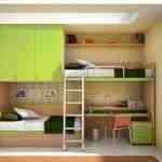 Más de 20 ideas para decorar dormitorios juveniles con literas 9