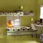 Más de 20 ideas para decorar dormitorios juveniles con literas 10
