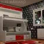 Más de 20 ideas para decorar dormitorios juveniles con literas 11