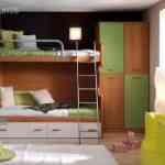 Más de 20 ideas para decorar dormitorios juveniles con literas 12