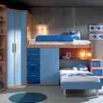Más de 20 ideas para decorar dormitorios juveniles con literas 13