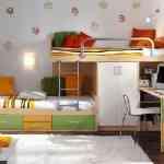 Más de 20 ideas para decorar dormitorios juveniles con literas 16