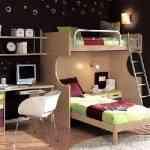 Más de 20 ideas para decorar dormitorios juveniles con literas 17
