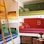 Más de 20 ideas para decorar dormitorios juveniles con literas 24