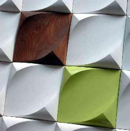 Dune, azulejos ondulados de Urban Product sellados con soja 1