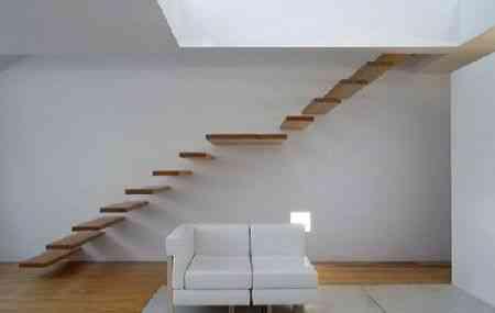 Los 10 mejores diseños de escaleras flotantes (II) 1