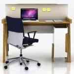 Buro, el escritorio con tapadera de Xianron Zheng para Habitat 4