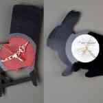 Re_Vinyl, colección de relojes de vinilo para pared de Pavel Sidorenko 2