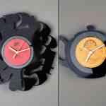 Re_Vinyl, colección de relojes de vinilo para pared de Pavel Sidorenko 4